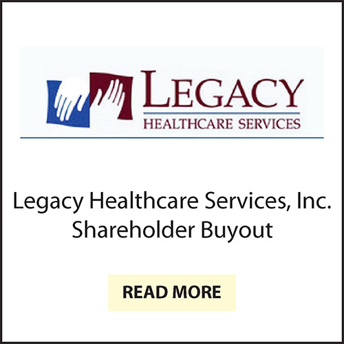Carriage Hill Shareholder Buyout